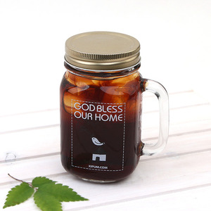 글라스머그-GOD BLESS OUR HOME 450ml